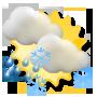 Weather development Wednesday 22.10