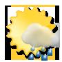 Weather development Sunday 08.08