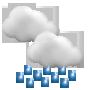 Weather development Friday 02.10