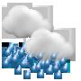 Weather development Saturday 03.10